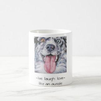 aussie mug -live  laugh  love-like an aussie