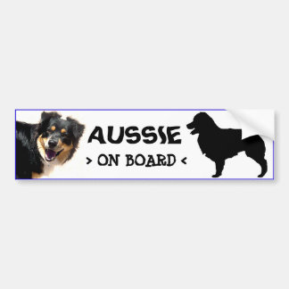 Aussie On Board Sticker