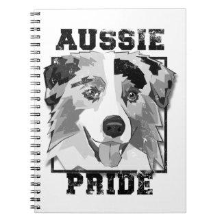 Aussie Pride Vintage Spiral Notebook