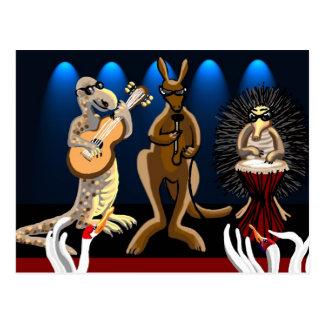 Aussie Rockers Postcard