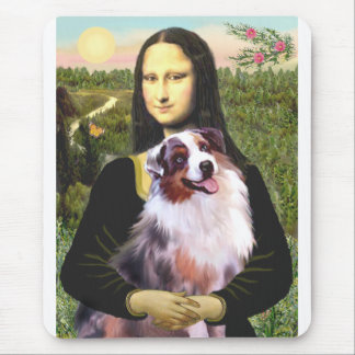 Aussie Shep 1 - Mona Lisa Mouse Pad