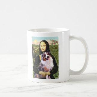 Aussie Shep 1 - Mona Lisa Coffee Mug