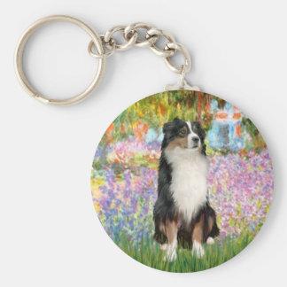 Aussie Shep 2 - Garden Keychain