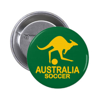 Aussie soccer yellow pin
