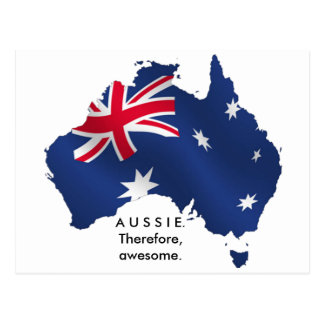 Aussie. Therefore, awesome. Postcard