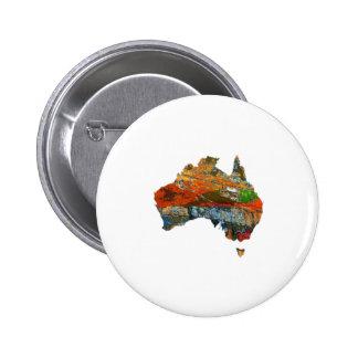 Aussie Time 6 Cm Round Badge