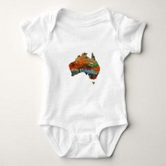 Aussie Time Baby Bodysuit