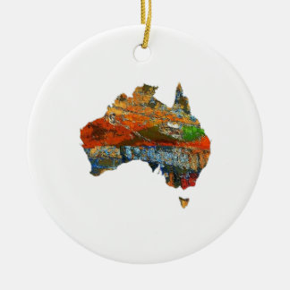 Aussie Time Ceramic Ornament
