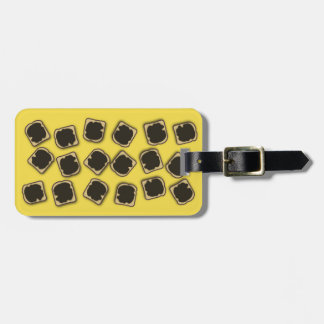 Aussie Yeast Extract on Toast Luggage Tag