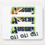 AussieAussieAussie_OiOiOi Mouse Pad
