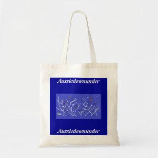 Aussiedownunder Deep Water Budget Tote Bag