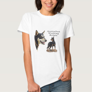 Aust Working Kelpie black and tan T Shirts