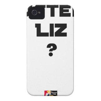 AUSTERE LIZ - Word games - François City iPhone 4 Case