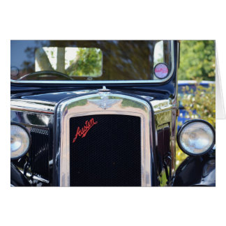 Austin A7 Radiator Grille Card
