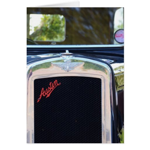 Austin A7 Radiator Grille Card