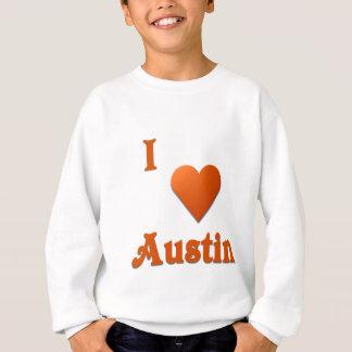 Austin -- Burnt Orange Sweatshirt