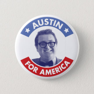 Austin For America (Classic) Button