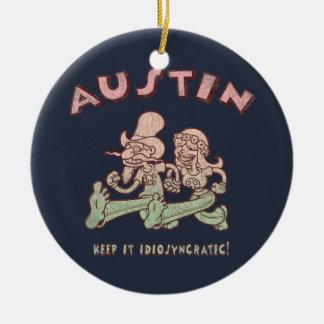 Austin Idiosyncratic Christmas Ornament
