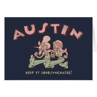 Austin Idiosyncratic Greeting Cards