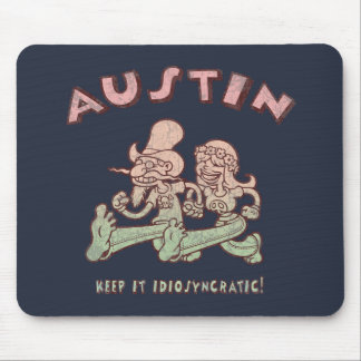 Austin Idiosyncratic Mouse Pads