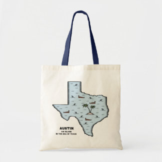 Austin Isle Canvas Bag