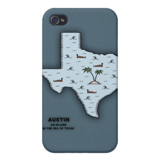 Austin Isle Cases For iPhone 4