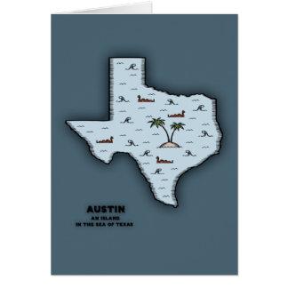 Austin Isle Greeting Card