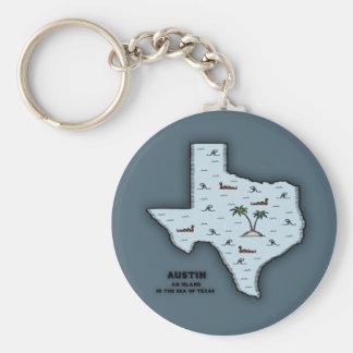 Austin Isle Keychains