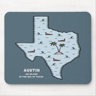 Austin Isle Mouse Pad