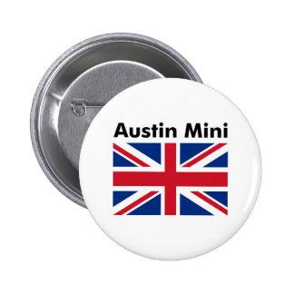 Austin Mini 6 Cm Round Badge