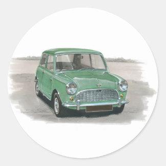 Austin Mini Mk1 Round Sticker