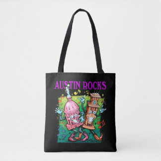 Austin Rocks Tote Bag
