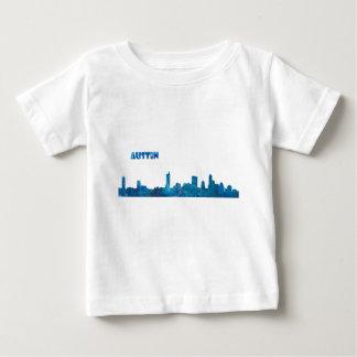 Austin Skyline Silhouette Baby T-Shirt