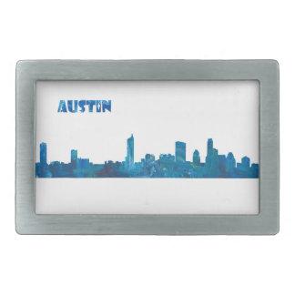 Austin Skyline Silhouette Belt Buckles