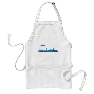 Austin Skyline Silhouette Standard Apron