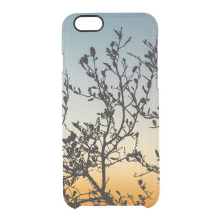 Austin Sunset in Winter Clear iPhone 6/6S Case