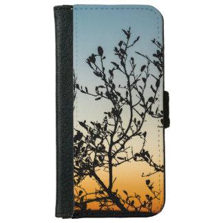 Austin Sunset in Winter iPhone 6 Wallet Case