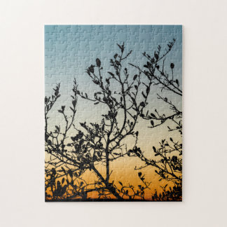 Austin Sunset in Winter Jigsaw Puzzle