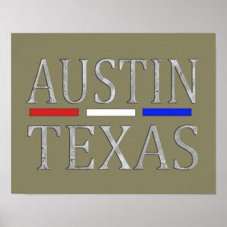 Austin Texas - Art print