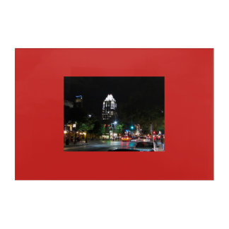 Austin Texas At Night Acrylic Print
