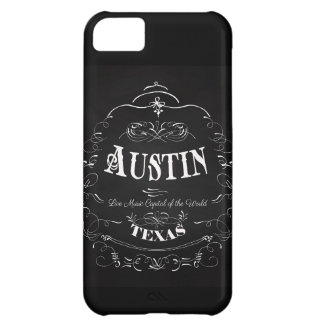 Austin, Texas - Live Music Capital of the World Cover For iPhone 5C