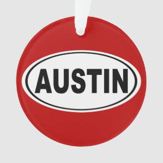 Austin Texas Ornament