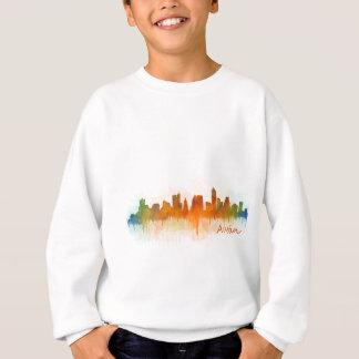 Austin Texas skyline Watercolor v3 Sweatshirt