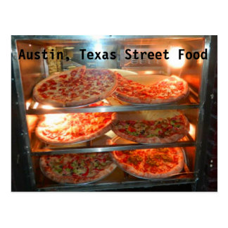 Austin Texas Street Food Postcard