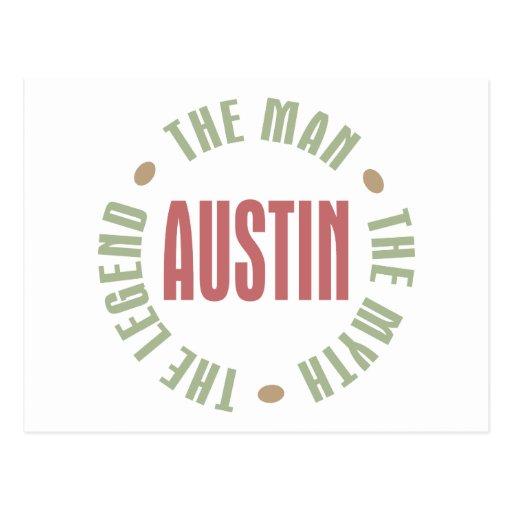 Austin the Man the Myth the Legend Post Cards
