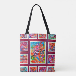 Austin Throw Back Design 2 Tote