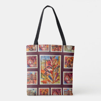 Austin Throw Back Design 3 Tote