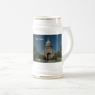 Austin, TX Capitol Building Beer Stein