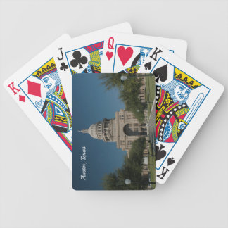 Austin, TX Capitol Building Bicycle Playing Cards