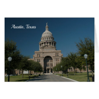 Austin, TX Capitol Building Card